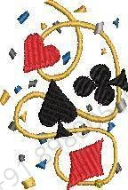 Sports Embroidery Design
