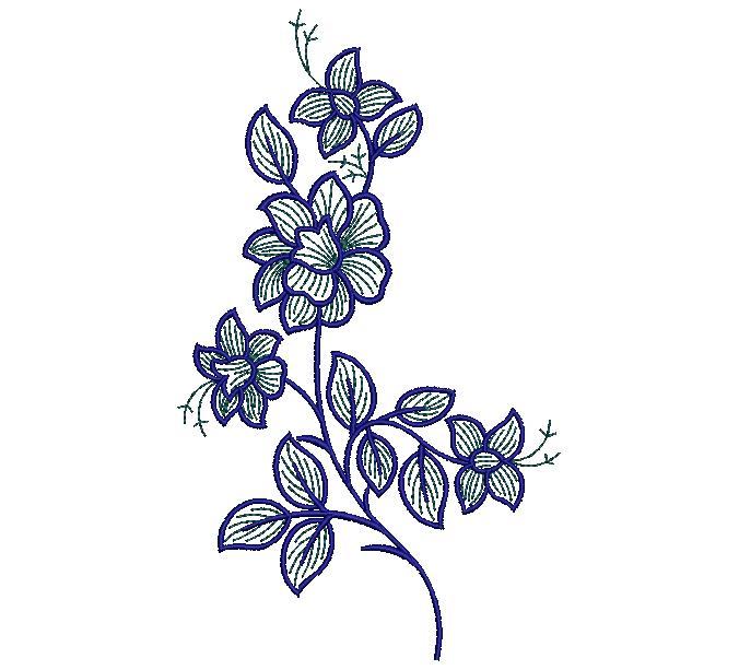 Fresh floral  creative flowers home furnishings art design