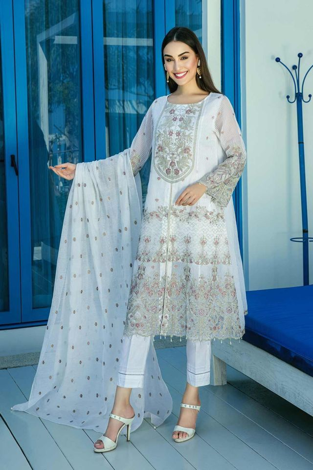 Agha noor  catalogue / brand  pakistan embroidery design