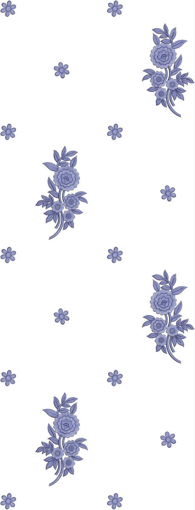 Duptta embroidery  design