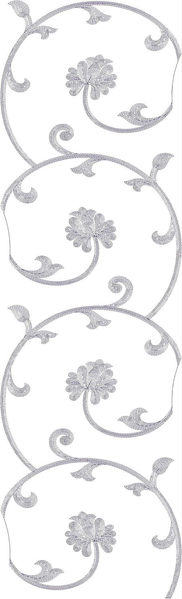 Low renj all garment Embroidery Design