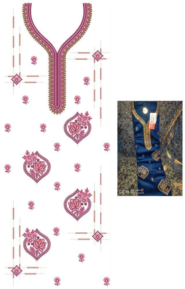 Lots flowers concept panjabi pakistani suits /duptta embroidery Design