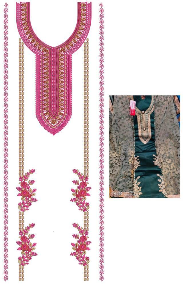 Punjabi Suits Latest Dress Embroidery Design
