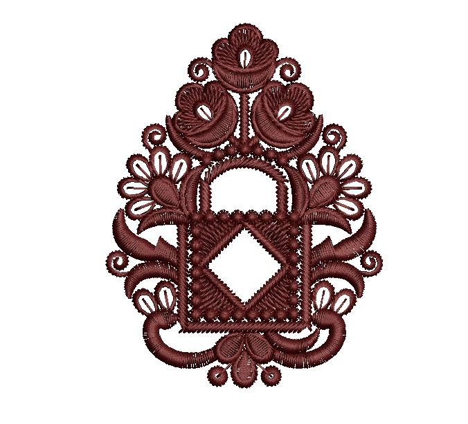 Awesome butta Embroidery Design