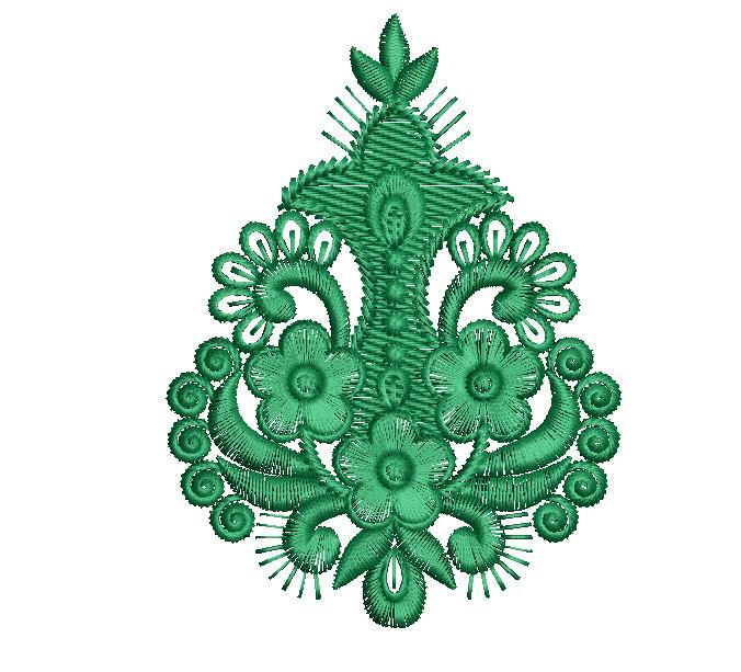 fancy butta  embroidery design