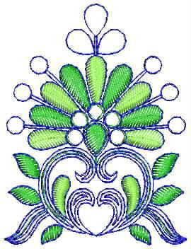 Beautiful butta embroidery designs