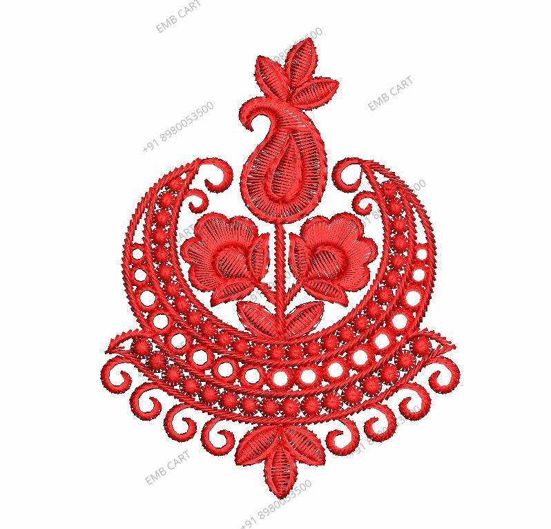 Diamond test butta  Embroidery Design