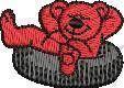TeddyBears Cartoons Embroidery Design
