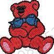 Teddy Bears Cartoons Embroidery Design