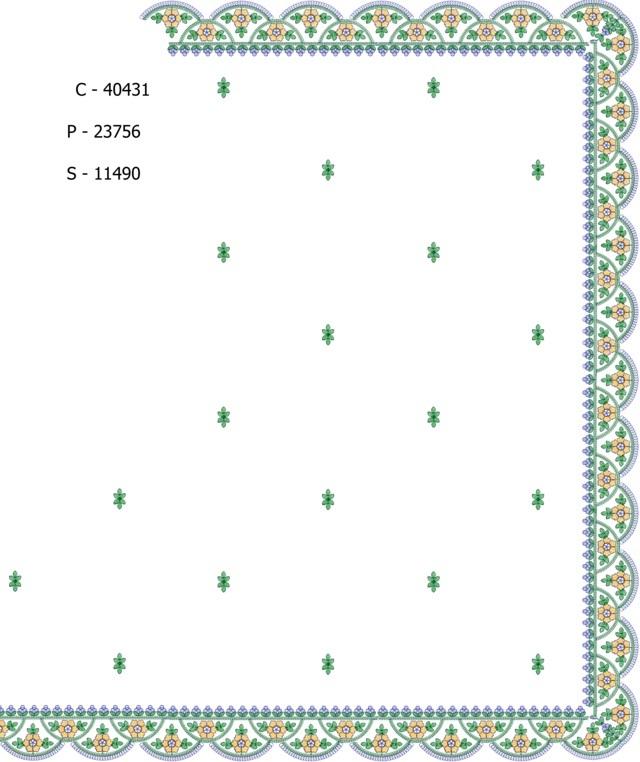 Cut work c pallu  saree embroidery designs