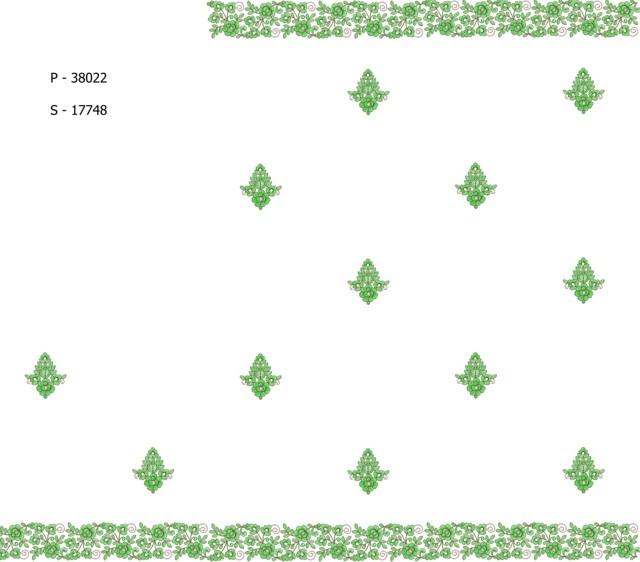 Pallu skt  Saree Embroidery Design
