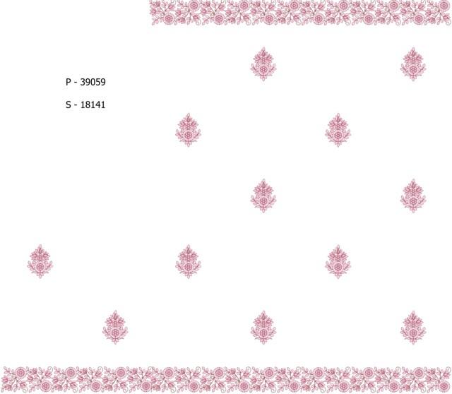 Pallu skt butta  Saree Embroidery Design