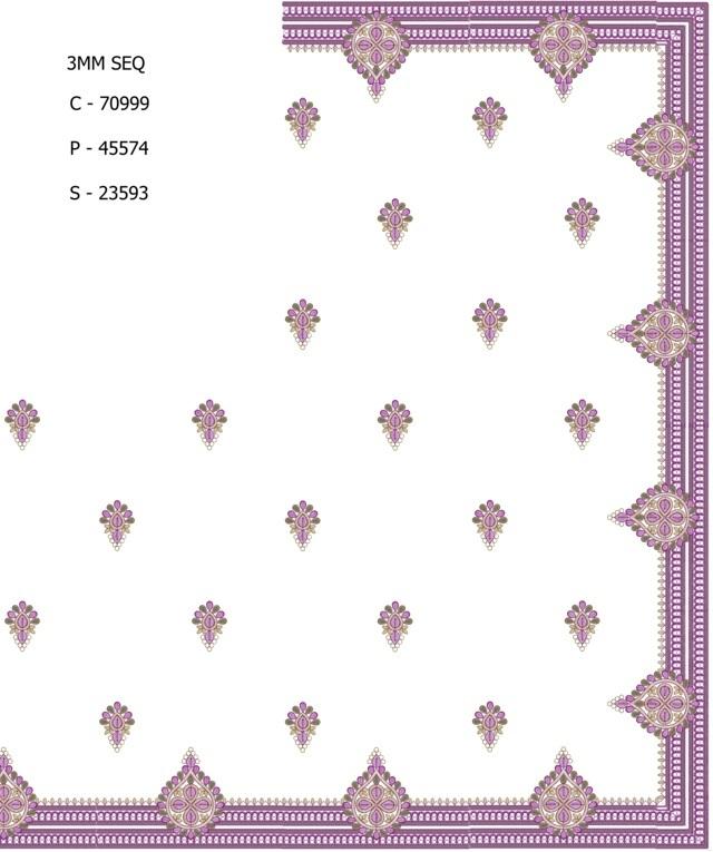 3MM Sequins work concept c pallu skt saree embroidery designs