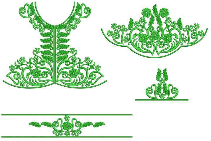 Arabian Embroidery Designs