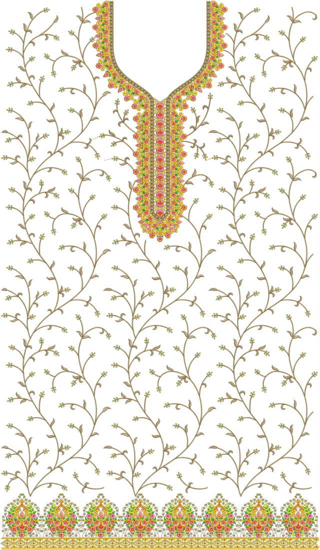 Heavy concept panjabi pakistani suits /duptta embroidery Design