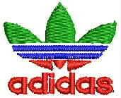 adidas Logo Embroidery Design