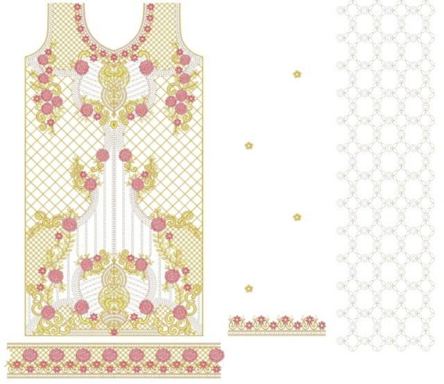 panjabi pakistani suits /duptta  embroidery Design