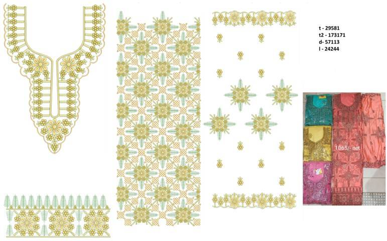 Heavy Punjabi Suits Latest Dress Embroidery Design