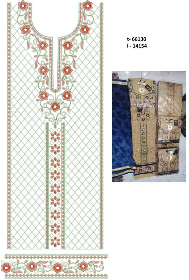 Heavy flowers panjabi pakistani suits /duptta embroidery Design